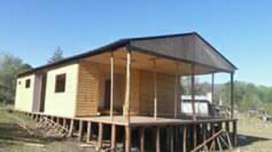 Construccion de Cabaña Y Durlock Y Albañ