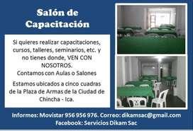 SALON DE CAPACITACION EN CHINCHA