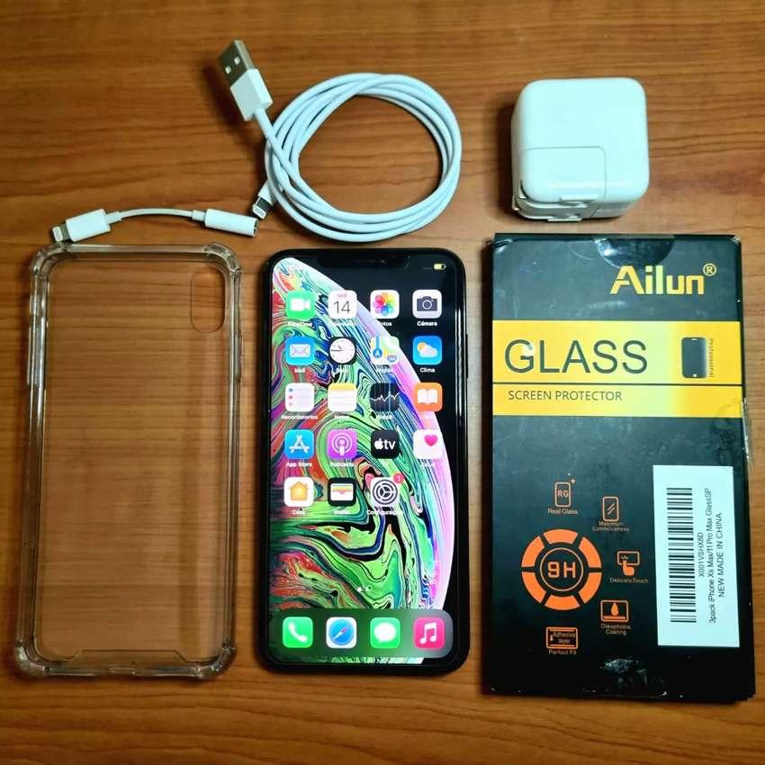 iPhone XS Max 256g + accesorios 91% como nuevo! Palermo