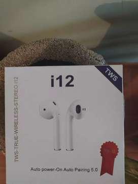 TWS i12 Audífonos inalámbricos Bluetooth