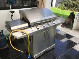 BBQ (barbacoa) de gas propano