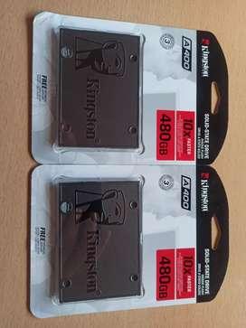 DISCO SSD 480Gb Kingston OFERTA Originales Garantía (precio por unidad)