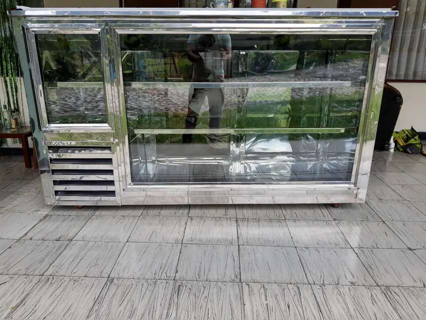 Refrigerador congelador góndolas tómbola barras verticales 0