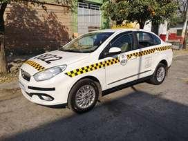 Fiat Grand Siena Con Licencia Taxi