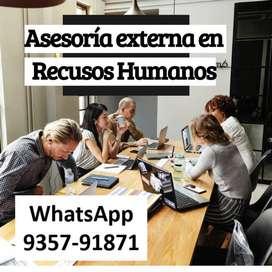 Asesoría en Recursos Humanos