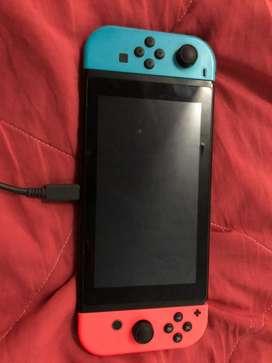 Nintendo switch 10/10 con todos sus accesorios + juegos