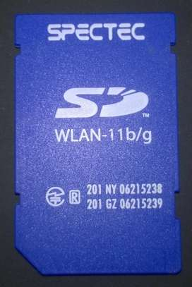 Tarjeta SD Wifi para GNSS y Pockets