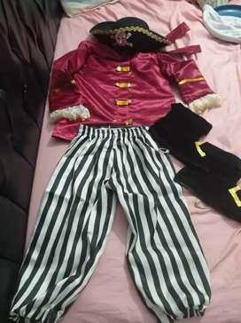 Disfraz pirata hermoso
