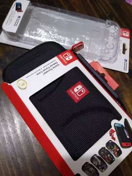 Vendo Estuche rígido y case protector para Nintendo Switch totalmente nuevos