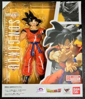 S.H. Figuarts Son Goku A Saiyan Raised on Earth