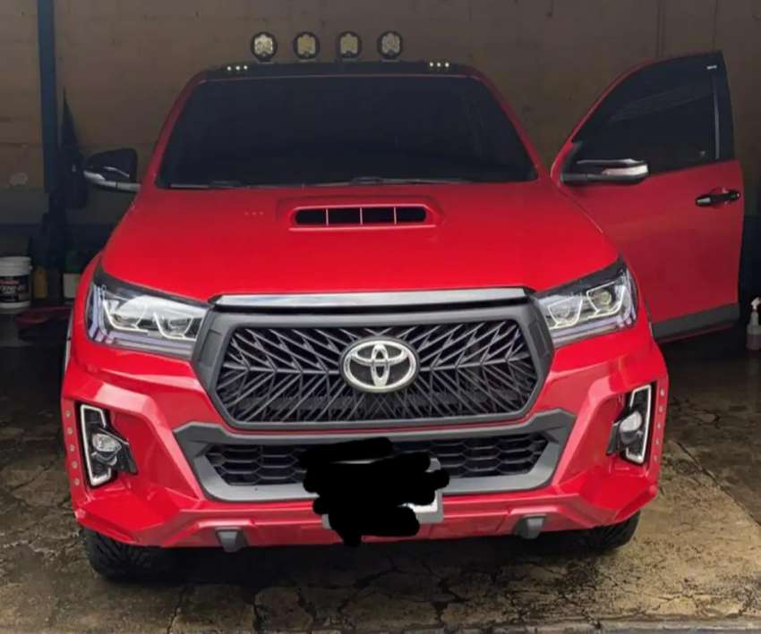 TOYOTA HILUX SRV 2017 AUTOMATICO MUCHAS EXTRAS 0