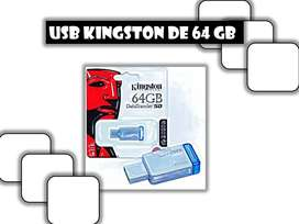 USB Kingston de 64 GB