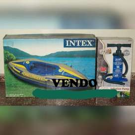 Vendo Kayak Challenger K1 Intex inflable