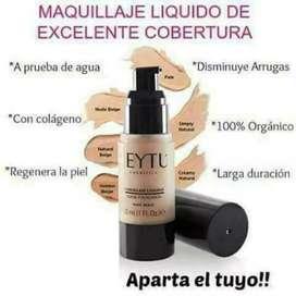 Maquillage resistente al agua y sudor