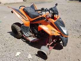 Cuatriciclo Zanella Scorpion 125cc Desarmado y Con Faltantes - 0km que fué usado para publicidad - con papeles