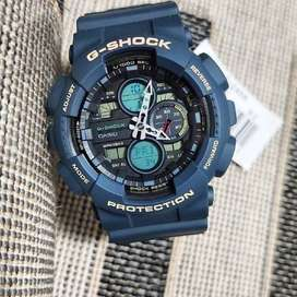Reloj Casio G-shock Ga-140-2adr Nuevo 100% Original En Caja