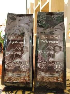 Venta de Café Coffee 100% Orgánico Premium Gourmet Cherry Coffee Femenino Indígena