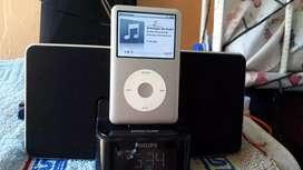 Vendo Ipod Clásico De 160 GB Grabado Con Músicas De Todo Género Exactamente 429 Músicas Grabadas.
