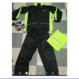Impermeable traje motociclista tipo sudadera
