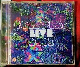 Colplay live 2012 cd + dvd