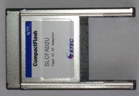 Tarjeta Adaptador Pcmcia a Compact Flash CF Stec Industrial