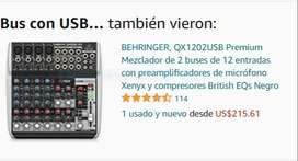 CONSOLA DE 4 CANALES - USB