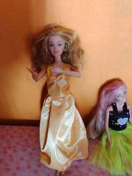 Muñeca Barbie mattel hermosa 1998 articulada