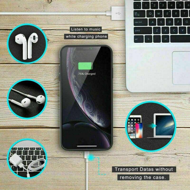 Case Bateria Estuche Externa iPhone Xr Extendida 5000 Mah 0
