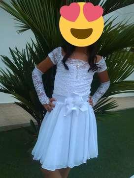 Vestido de Primera Comunión  2 piezas