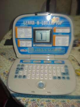 Computadora Didactica Bilingue Learn A Lot Laptop Startright