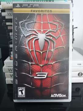 Spiderman 3 PSP