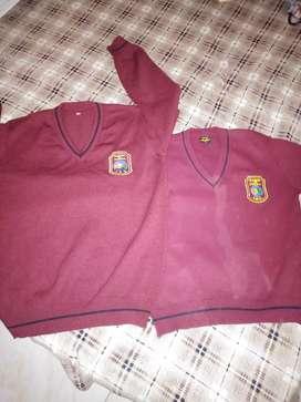 Vendo uniforme del colegio Ramón de zubiria talla 10 y 16