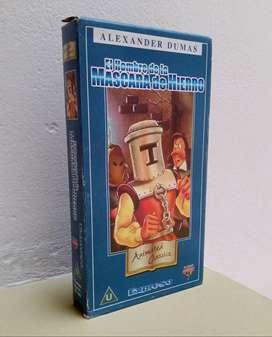 Cinta VHS , El Hombre de la Mascara de Hierro
