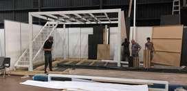 Mezzanine 400 x 400 por 250 de altura