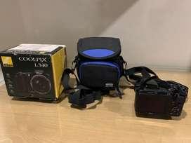 Camara Nikon Coolpix L340 Como Nueva + Protector