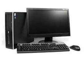 Oferta hp core i5 con monitor 19 garantía 6 meses