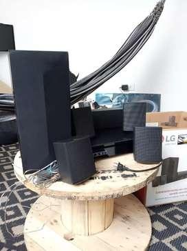 Vendo Teatro en Casa Lg LHB625M con 3D blue-ray/dvd