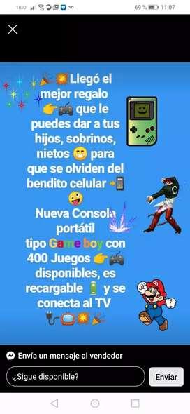 Consola retro Mario brox 400 juegos incorporados