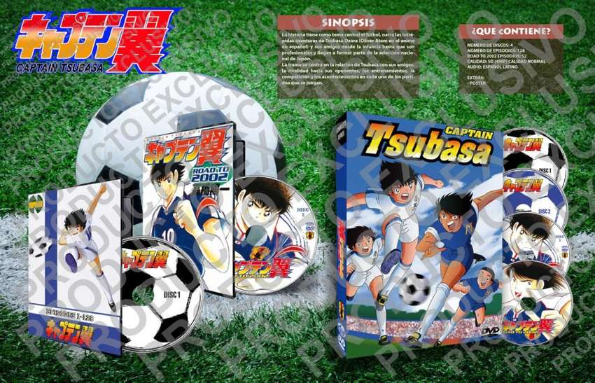 Super Campeones Clasico Y Road To 2002 Completo 0