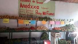 fruver legumbreria en san antonio deprado  muy bien acreditado en presio revajado aprobechalo