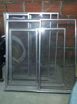 Ventanas de segunda en aluminio