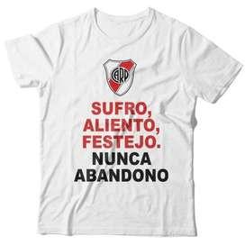 Remera River Plate Personalizada