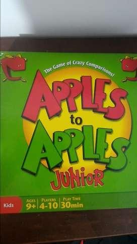 Manzanas con manzanas Junior