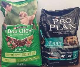 Dog chow ; Pro plan
