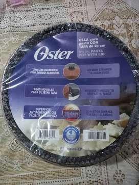 Olla oster especial para pasta con tapa de 24 cm