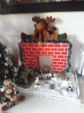 VENTA DE: Chimenea de Navidad