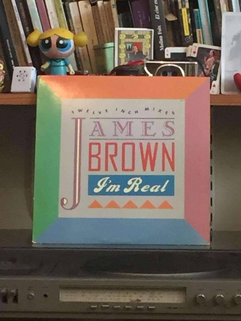 """Vinilo James Brown """"I'm real"""" 1988 0"""