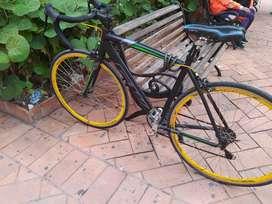 Bicicleta Ruta Gw Aluminio