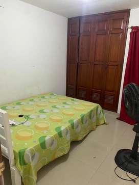 Arriendo habitacion con servicios incluidos
