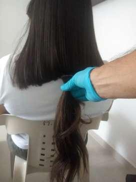 Extenciones cabello Natural humano Vigen100%